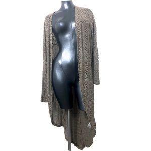 Ecote   UO Long Tunic Cardigan Long Sleeve